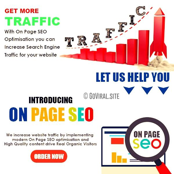 on page seo traffic