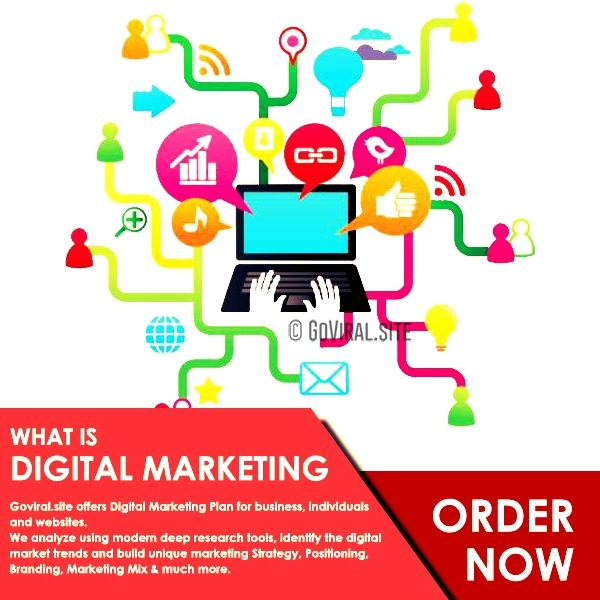 Digital Marketing Plan For Companies Individuals And Website